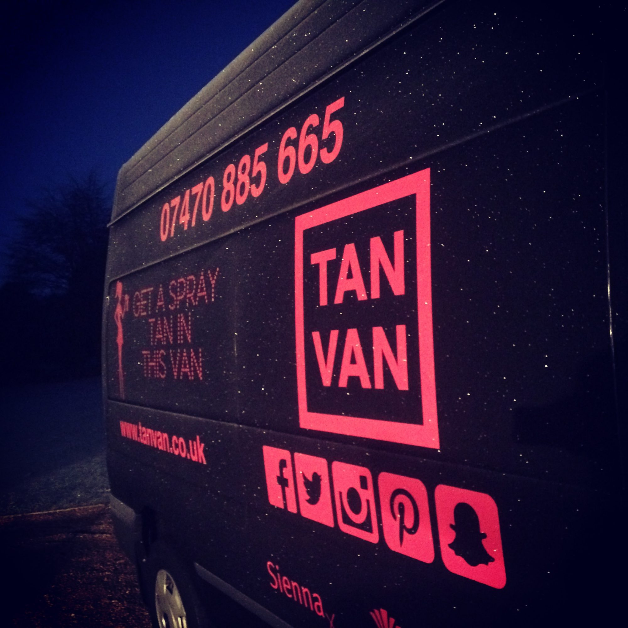 Tan Van - Spray Tanning in a Van